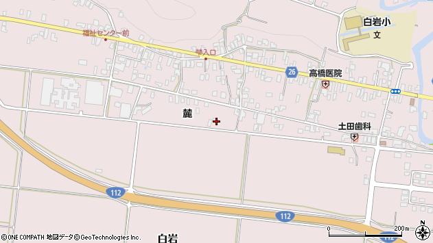 山形県寒河江市白岩1194周辺の地図
