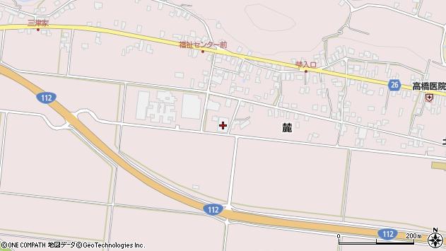 山形県寒河江市白岩弁才天1158周辺の地図