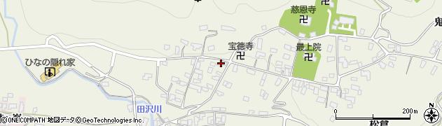 山形県寒河江市慈恩寺周辺の地図