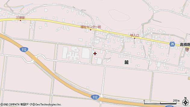 山形県寒河江市白岩415周辺の地図