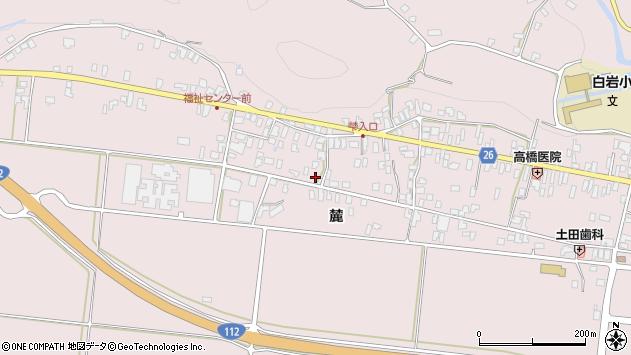 山形県寒河江市白岩359周辺の地図