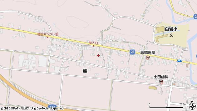 山形県寒河江市白岩324周辺の地図