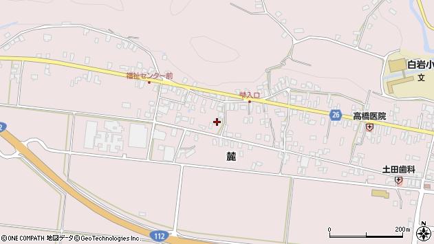 山形県寒河江市白岩358周辺の地図
