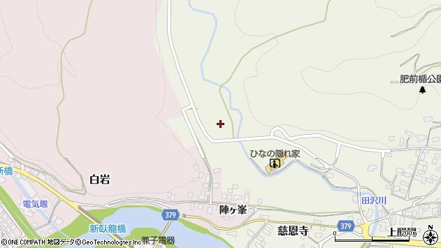 山形県寒河江市慈恩寺391周辺の地図