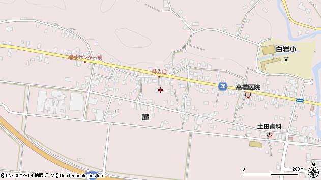 山形県寒河江市白岩331周辺の地図