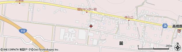 山形県寒河江市白岩398-2周辺の地図