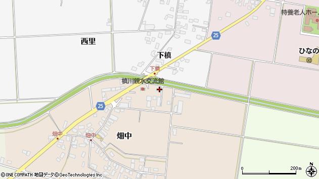 山形県西村山郡河北町畑中152周辺の地図