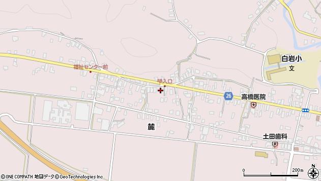 山形県寒河江市白岩335周辺の地図