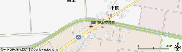 山形県西村山郡河北町畑中5周辺の地図