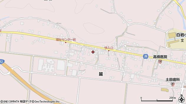 山形県寒河江市白岩362周辺の地図