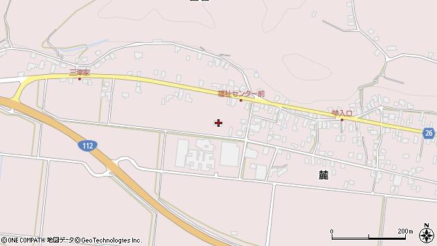 山形県寒河江市白岩6288周辺の地図