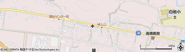山形県寒河江市白岩353周辺の地図
