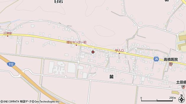 山形県寒河江市白岩379周辺の地図