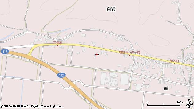 山形県寒河江市白岩482周辺の地図