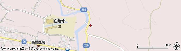 山形県寒河江市白岩54周辺の地図