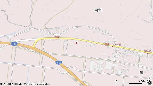 山形県寒河江市白岩490周辺の地図