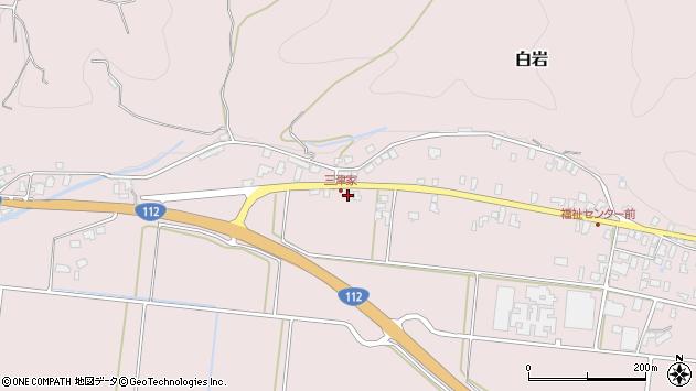 山形県寒河江市白岩531周辺の地図