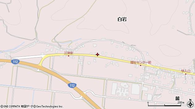 山形県寒河江市白岩491周辺の地図