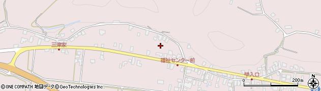 山形県寒河江市白岩445周辺の地図