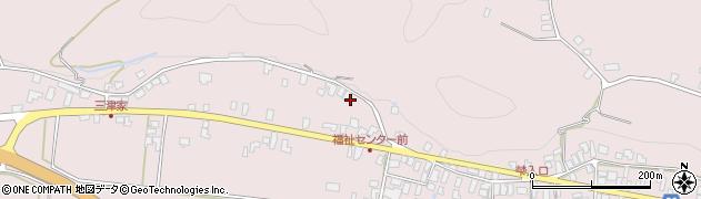 山形県寒河江市白岩437周辺の地図