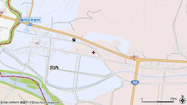 山形県寒河江市白岩821周辺の地図