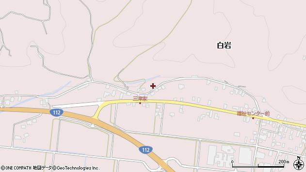 山形県寒河江市白岩528周辺の地図