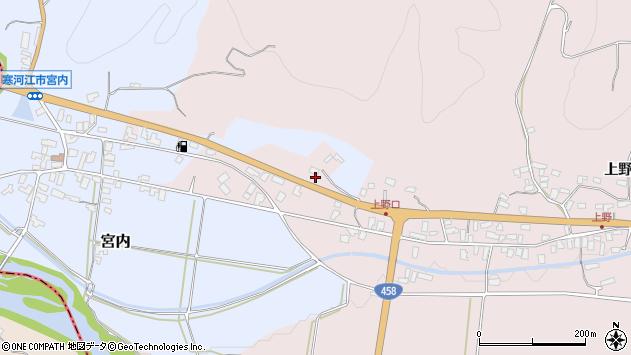 山形県寒河江市白岩松民清水813周辺の地図