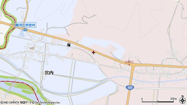 山形県寒河江市白岩820周辺の地図