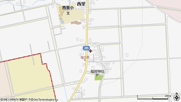山形県西村山郡河北町西里795周辺の地図
