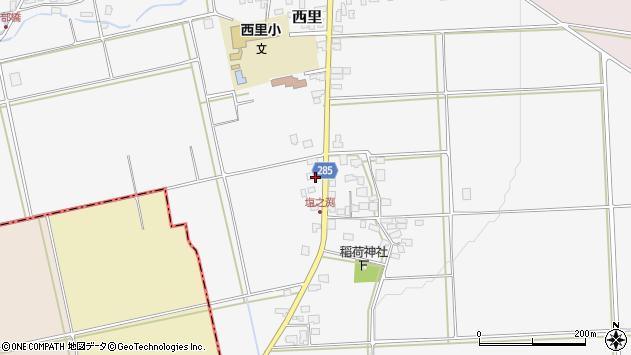 山形県西村山郡河北町西里832周辺の地図
