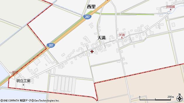 山形県西村山郡河北町西里241周辺の地図