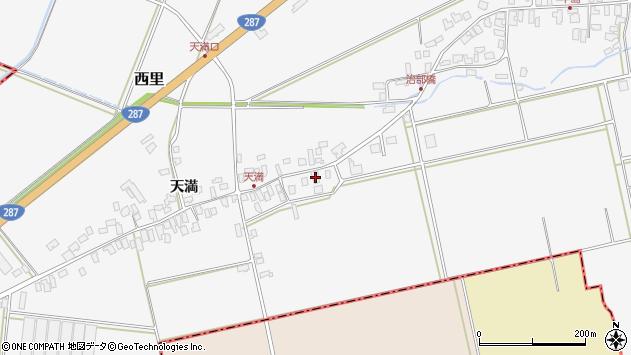 山形県西村山郡河北町西里136周辺の地図