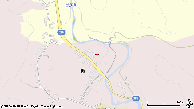 山形県寒河江市白岩1957周辺の地図