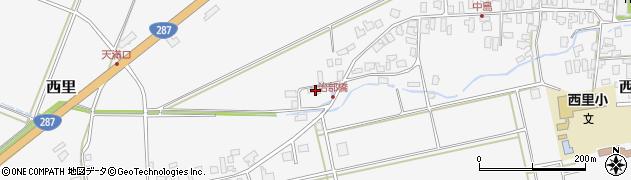 山形県西村山郡河北町西里1462周辺の地図