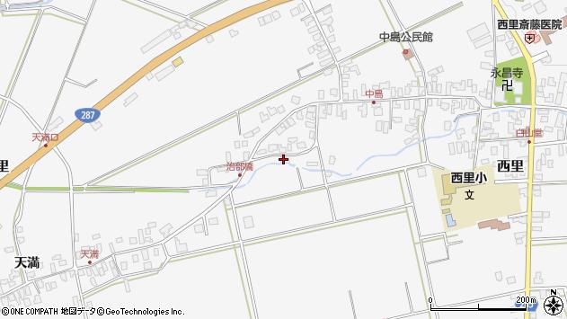 山形県西村山郡河北町西里1447周辺の地図