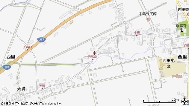 山形県西村山郡河北町西里1457周辺の地図