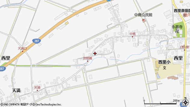 山形県西村山郡河北町西里1452周辺の地図