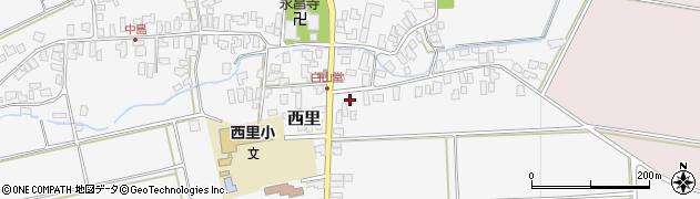 山形県西村山郡河北町西里614周辺の地図