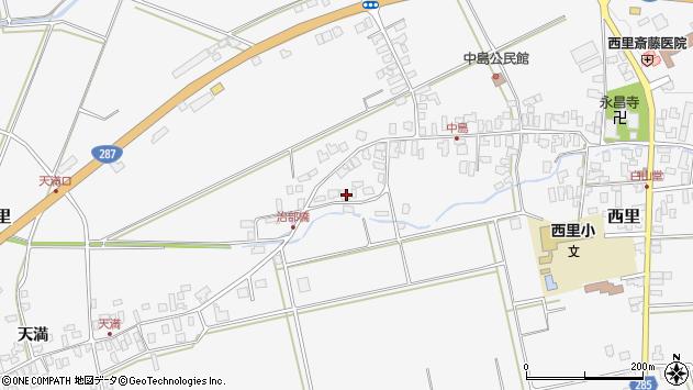 山形県西村山郡河北町西里1446周辺の地図