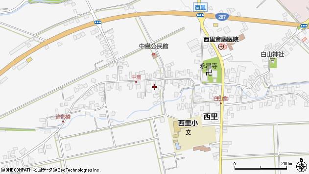 山形県西村山郡河北町西里1374周辺の地図