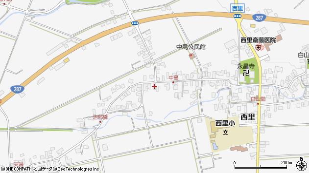 山形県西村山郡河北町西里1411周辺の地図