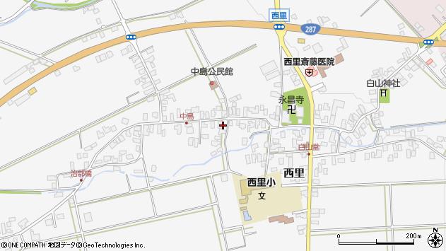 山形県西村山郡河北町西里1378周辺の地図
