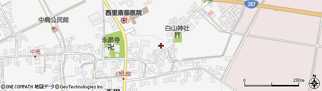 山形県西村山郡河北町西里662周辺の地図