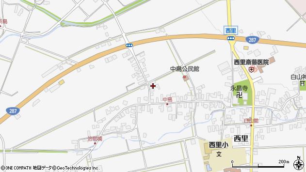 山形県西村山郡河北町西里1309周辺の地図
