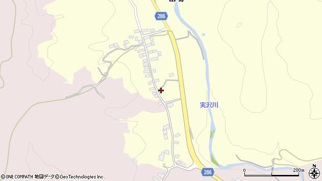 山形県寒河江市留場241周辺の地図