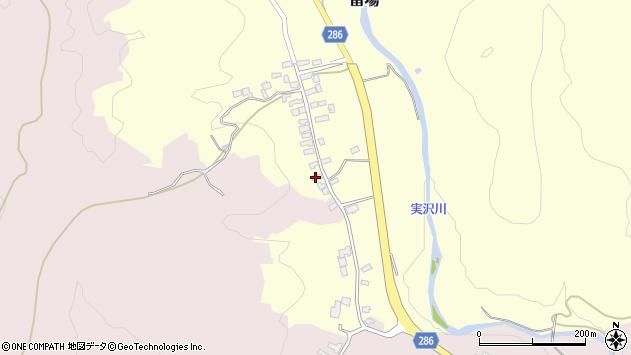 山形県寒河江市留場20周辺の地図