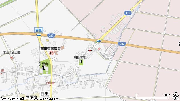 山形県西村山郡河北町西里768周辺の地図