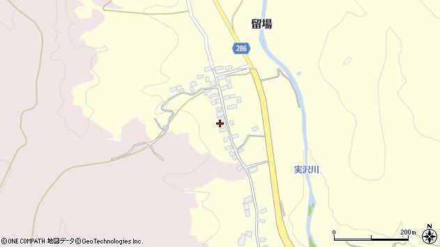 山形県寒河江市留場25周辺の地図
