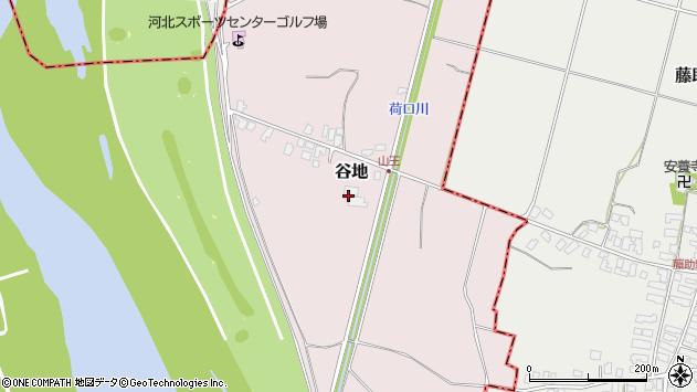 山形県西村山郡河北町谷地丙1542周辺の地図