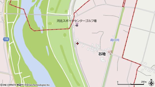 山形県西村山郡河北町谷地乙1174周辺の地図
